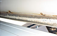 Sportsmobile - Roof Rust - close-up