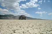 Jeep on the playa (7/12 2:52 PM)