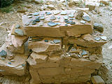 piled items from the cliff dwellings (7/25 8:32 AM)
