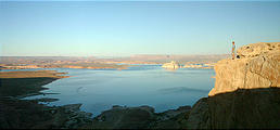 Lake Powell - viewed from Romana Mesa (7/28 6:07 AM)