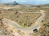 Oatman Pass - Road - Jeep