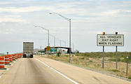 Texas - Road - Border Inspection Checkpoint