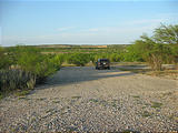 Texas - Amistad National Recreation Area - Old Boat Ramp, Now Dry