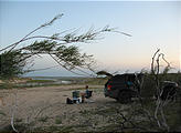 Texas - Amistad National Recreation Area - Camping - Jeep