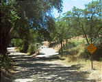 San Ysidro Mountains Trail - Sign - Not a through street (May 31, 2006 1:12 PM)