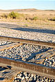 Utah - Golden Spike National Historic Site - Restored Railroad