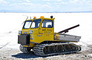 "Utah - Speed Week - Bonneville Salt Flats - ""Mr. Tow"" - Tow Truck with Treads - Thiokol Spryte"