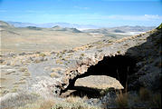 Utah - Silver Island Mountains - Partially Collapsed Cave