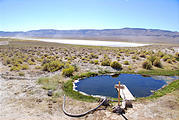 Nevada - Devil's Faucet Hot Spring - North of Gridley Lake