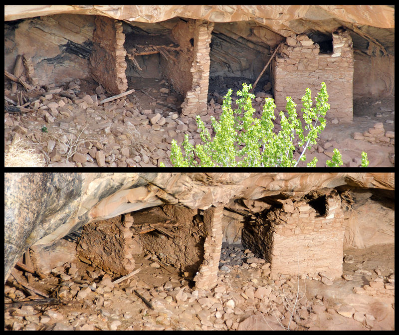 Utah - Ruins - Before & After - Over Under Ruin (Lower)