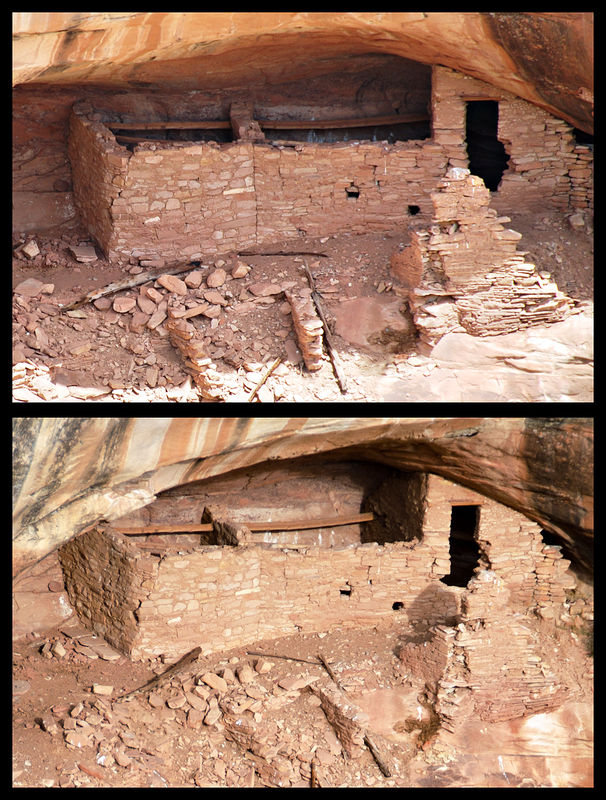 Utah - Ruins - Before & After - Over Under Ruin (Upper)