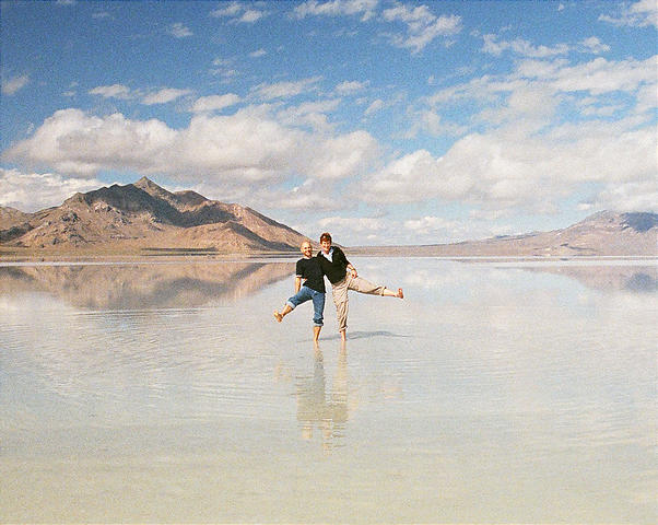 Bonneville Salt Flats | Utah Road Trip 2005
