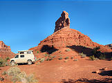 Valley of the Gods - Campsite - Sportsmobile (8:56 AM Oct 11, 2005)