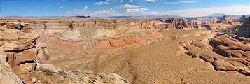 View from Romana Mesa - Alstrom Point - Lake Powell (12:37 PM Oct 15, 2005)