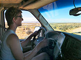 Romana Mesa - Alstrom Point - Laura Driving - Sportsmobile (12:57 PM Oct 15, 2005)