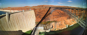 Glen Canyon Dam (2:57 PM Oct 15, 2005)