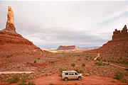 Valley of the Gods - Sportsmobile - Campsite