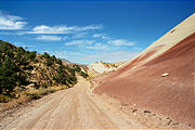 Capitol Reef National Park - Road - Multicolor Mud