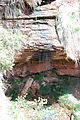 Cedar Mesa - Lower Mule Canyon Ruins - Waterfall