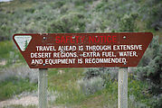 Pony Express Trail - Sign