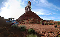 Valley of the Gods - Campsite - Sportsmobile