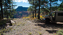 South Elk Ridge - Trees - Fall Colors - Campsite Idea - Sportsmobile
