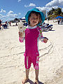 Puerto Morelos - Beach - Coconut - Lyra (Photo by Laura)