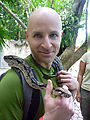 Puerto Morelos - Crococun Zoo - Snake - Geoff (Photo by Laura)